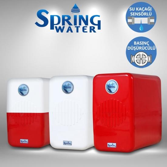 Spring Water Alkali Mineral Su Arıtma Cihazı pH 7,5 - 9