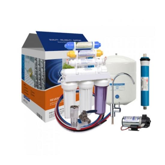 Spring 8 Aşamalı Pompalı Su Arıtma Cihazı