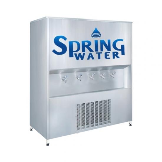 Spring Water Paslanmaz Çelik 500'lük Arıtmalı Su Sebili
